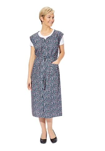 Classic Basics Hauskleid mit Blütendruck kaufen