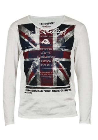 trueprodigy Langarmshirt »Union Jack« kaufen