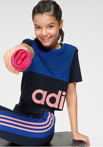 adidas Performance T - Shirt »YOUTH GIRL LINEAR CELEBRATE TEE« kaufen