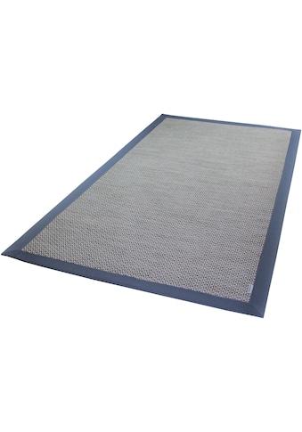 Dekowe Teppich »Naturino Color, Wunschmass«, rechteckig, 7 mm Höhe, Flachgewebe, Sisal-Optik, mit Bordüre, In- und Outdoor geeignet, Wohnzimmer kaufen
