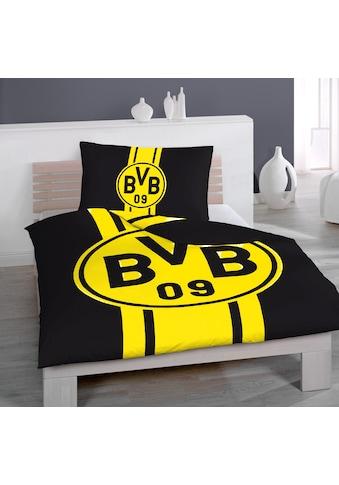 Borussia Dortmund Bettwäsche »Renforcé-Bettwäsche »BVB«« kaufen