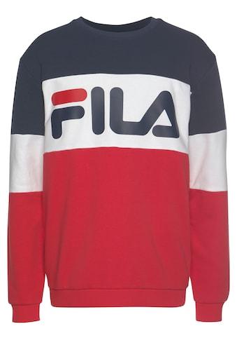Fila Sweatshirt »STRAIGHT blocked crew« kaufen