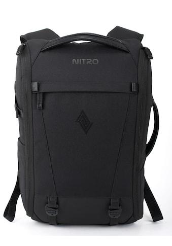NITRO Fotorucksack »Remote, Black«, inkl. Einsatz für Equipment kaufen