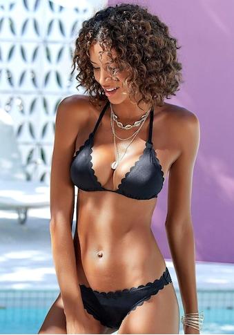 LASCANA Triangel - Bikini - Top »Scallop« kaufen