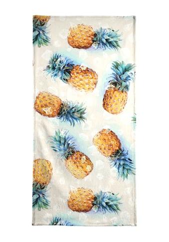 """Strandtuch """"Pineapples + Crystals"""", Juniqe kaufen"""