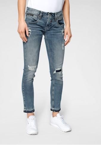 Herrlicher 7/8-Jeans »TOUCH CROPPED«, mit Cut Off Säumen und Destroyed Effekten kaufen
