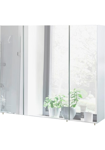 Schildmeyer Spiegelschrank »Basic«, Breite 90 cm, 3-türig, Glaseinlegeböden, Made in... kaufen