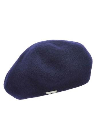 Seeberger Fleecemütze »Baskenmütze 18411-0« kaufen