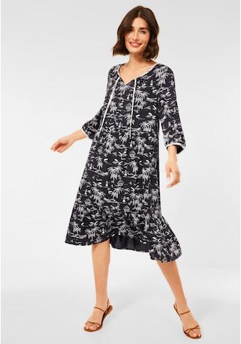 Cecil Sommerkleid, mit Palmenprint kaufen