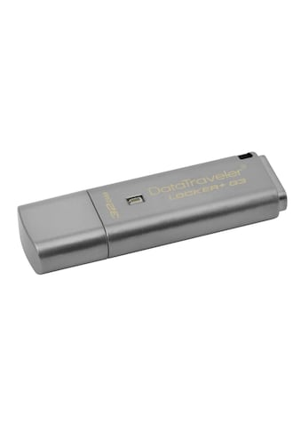 USB - Stick, Kingston, »DataTraveler Locker+ G3 USB3.0 32 GB« kaufen