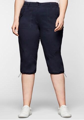 Sheego Caprihose, aus leichter, elastischer Baumwollqualität kaufen