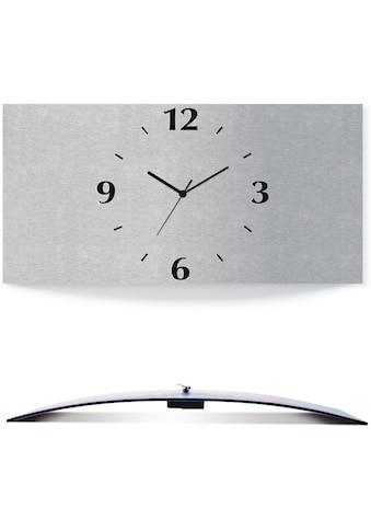 Artland Wanduhr »Silberfarbennes Design« kaufen