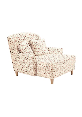 Max Winzer® Sessel »Julia«, mit naturfarbenen Holzfüssen kaufen