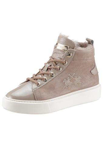 La Martina Sneaker, mit Schmuckelementen kaufen