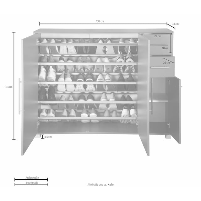 Schildmeyer Schuhschrank »Pisa«