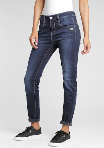 GANG Straight-Jeans »Rubinia«, im Used-Look kaufen