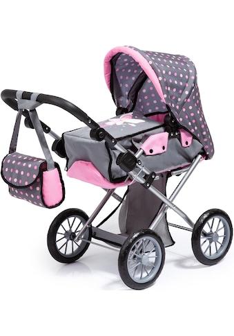 Bayer Kombi-Puppenwagen »City Star, grau«, mit Wickeltasche kaufen