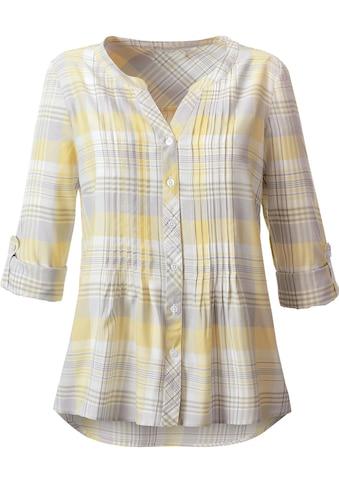 Casual Looks Bluse in lässigem Karo - Dessin kaufen