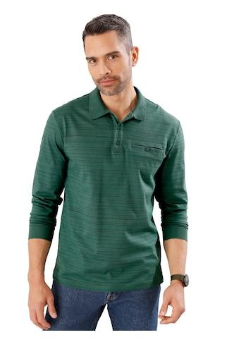Poloshirt in trageangenehmer Single - Jersey - Qualität kaufen
