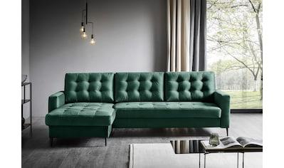 Places of Style Ecksofa »Fontana«, wahlweise mit Bettfunktion kaufen