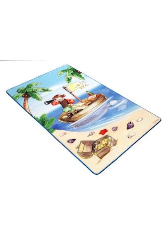 Böing Carpet Fussmatte »Lovely Kids LK-1«, rechteckig, 2 mm Höhe, Schmutzfangmatte,... kaufen