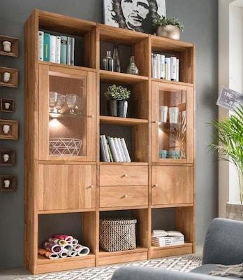 Holz-Bücherregal