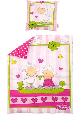 Heless Puppen Bettwäsche »Puppenbettdecke mit Kissen« kaufen