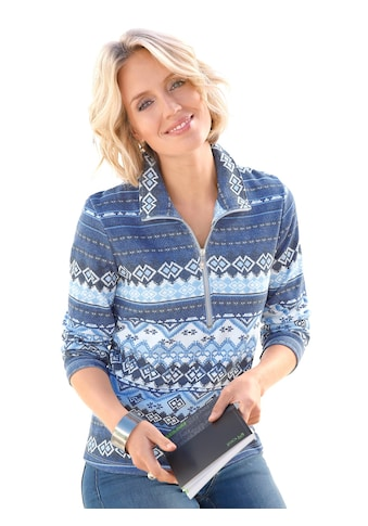 Casual Looks Shirt im klassischen Norwegermuster - Druck kaufen
