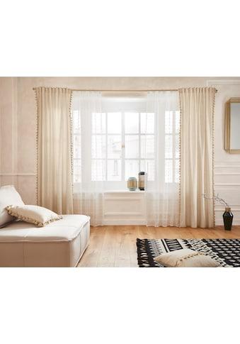 Gardine, »Belle«, Guido Maria Kretschmer Home&Living, verdeckte Schlaufen 1 Stück kaufen