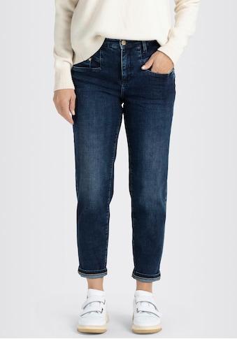 MAC Ankle-Jeans »Rich-Carrot Sylvie Meis«, Krempelbarer Karotten-Schnitt von MAC mit... kaufen