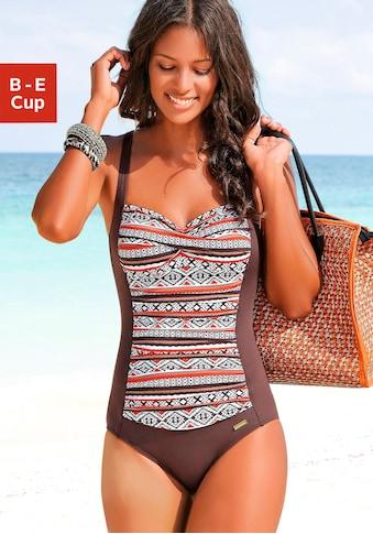 LASCANA Badeanzug »Wintu«, im angesagten Design und mit Shaping-Effekt kaufen