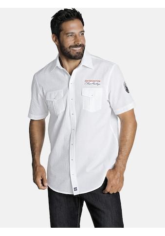 Jan Vanderstorm Kurzarmhemd »ELNOR« kaufen