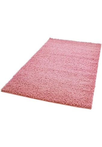 Hochflor - Teppich, »Pastell Shaggy300«, Carpet City, rechteckig, Höhe 30 mm, maschinell gewebt kaufen