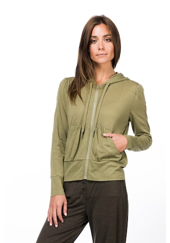 SUPER.NATURAL Kapuzensweatjacke »W HOODED COVER UP« kaufen