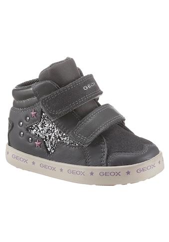 Geox Kids Lauflernschuh »B Kilwi Girl«, mit Glitter-Stern kaufen