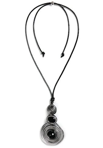 J.Jayz Kette mit Anhänger »mit drei Spiral - Kreisen« kaufen