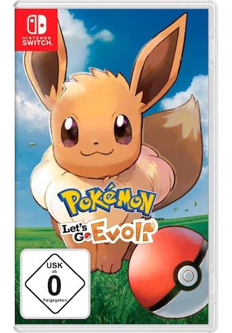 Pokémon: Let's Go, Evoli! Nintendo Switch kaufen