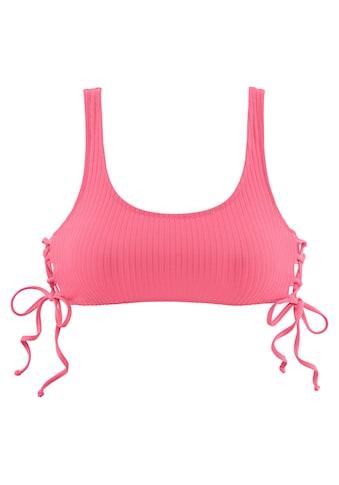 LASCANA Bustier - Bikini - Top »Rippe« kaufen