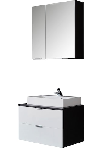 trendteam Badmöbel-Set »Concept One«, (Set, 2 tlg.), inklusive Aufsatzwaschbecken kaufen