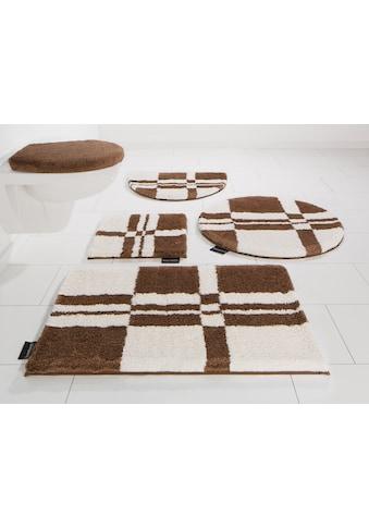 Badematte »Calum«, Bruno Banani, Höhe 25 mm, fussbodenheizungsgeeignet schnell trocknend strapazierfähig kaufen