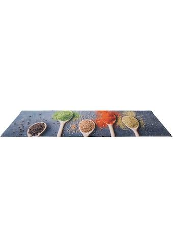 Küchenläufer, »Gewürze«, Andiamo, rechteckig, Höhe 3 mm, maschinell zusammengesetzt kaufen