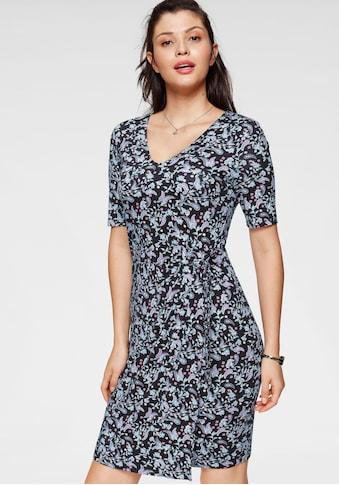 TOM TAILOR Jerseykleid, mit Knotendetail in toller Wickeloptik kaufen