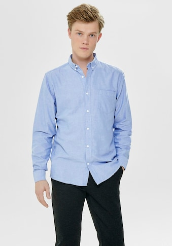 ONLY & SONS Langarmhemd »VARO LS OXFORD SHIRT« kaufen
