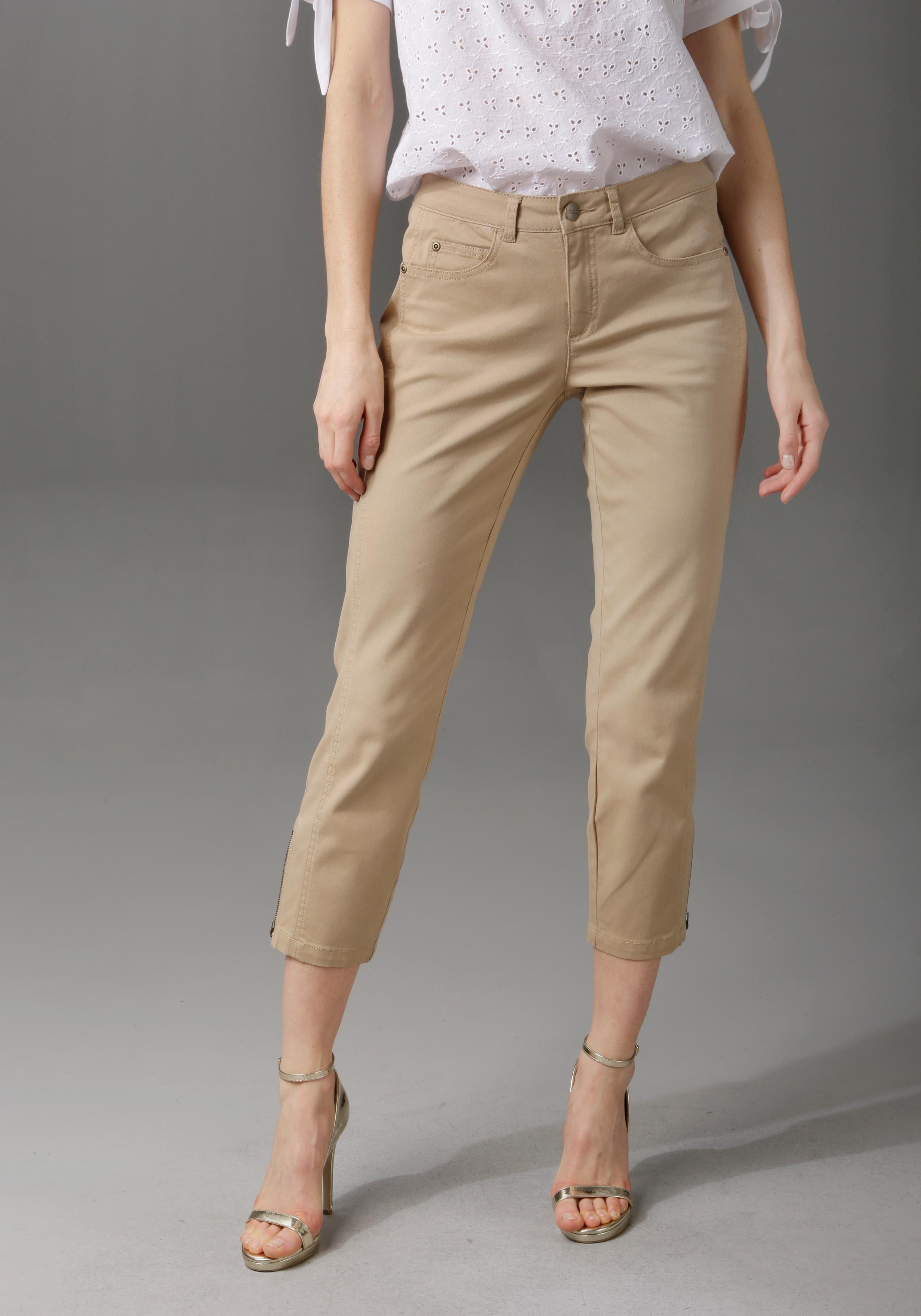 Image of Aniston CASUAL 7/8-Hose, mit Teilungsnähten