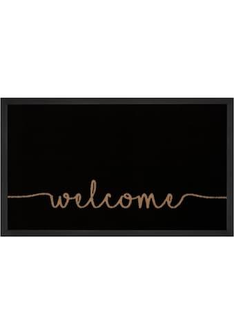HANSE Home Fussmatte »Cozy Welcome«, rechteckig, 5 mm Höhe, mit Spruch, In- und... kaufen