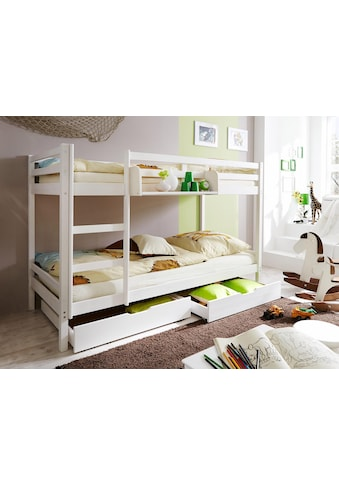 Ticaa Etagenbett »René«, Kiefer kaufen