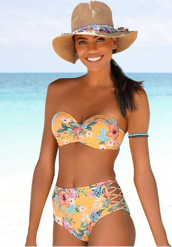 Bench. Bügel-Bandeau-Bikini-Top »Maui«, in floralem Design kaufen