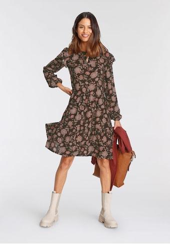 Tamaris Blusenkleid, mit süssen Schulter-Volants - NEUE KOLLEKTION kaufen