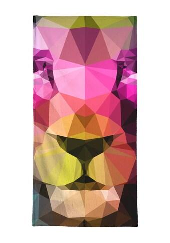 """Strandtuch """"Wild Neon 01a"""", Juniqe kaufen"""