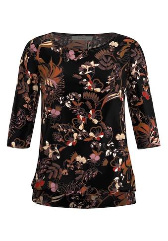 bianca 3/4-Arm-Shirt »DINI«, mit stylischem floralen Print kaufen